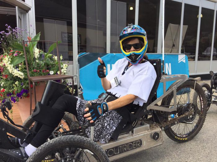 Giant Steps Rider Attends No Barriers Summit