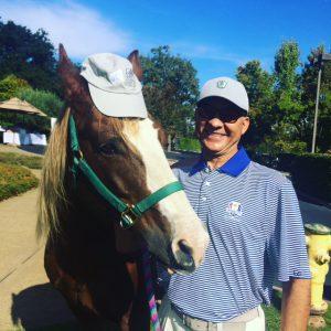 Miguel Delgado and Sunny golf tournament 2016